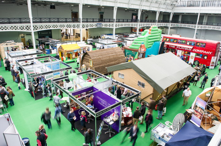 Olympia National event and exhibition venue in central London is where Farm Business Innovation takes place