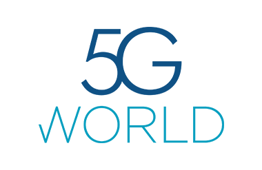Logo for 5G World taking place at Olympia Grand
