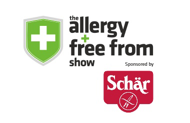 The logo for Allergy & Free From Show, held at Olympia London