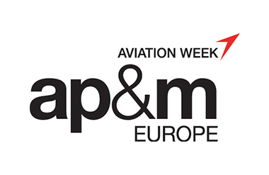 Logo for Airline Purchasing and Maintenance Expo taking place at Olympia London