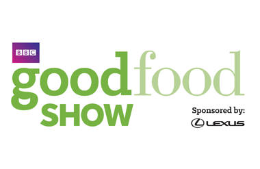 The logo for BBC Good Food which takes place at Olympia Grand.