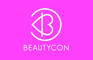 The logo for BeautyCon Festival, held at Olympia London