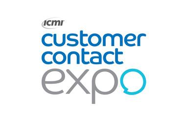 Logo for Customer Contact Expo taking place at Olympia National