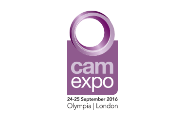 The Logo for Camexpo taking place at Olympia Central