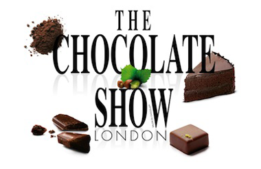The logo for The Chocolate Show, Olympia London