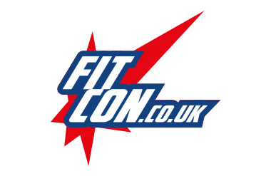 The logo for FitCon taking place at Olympia London