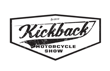 The logo for Kickback, taking place in Olympia Central