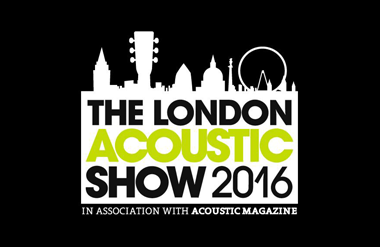 The logo for The London Acoustic Show taking place in Olympia Conference Centre