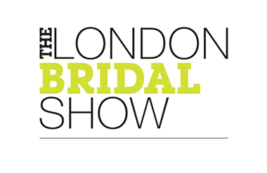 Logo for London Bridal Show taking place at Olympia National