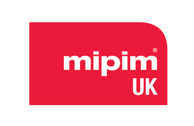 Logo for Mipim taking place at Olympia National