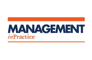 Logo for Management in Practice taking place at Olympia Conference Centre