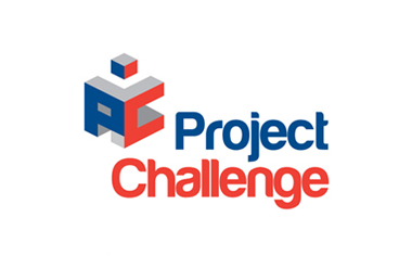Logo for Project Challenge taking place at Olympia Central