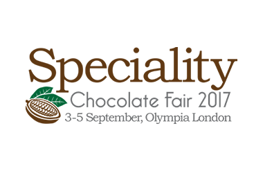 Logo for Speciality Chocolate Fair in Olympia London