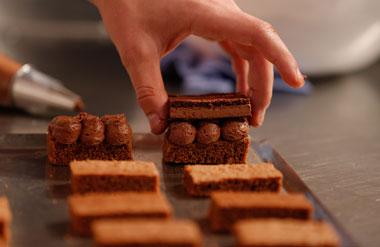 Salon du Chocolat takes place at Olympia National event and exhibition venue in central London