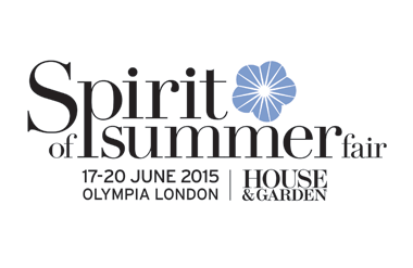 The logo for Spirit of Summer Fair which takes place at Olympia London in central London.