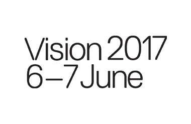 Logo for Vision taking place at Olympia London