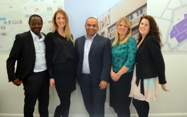Olympia London took home the trophy for best sales team at Exhibition News Awards