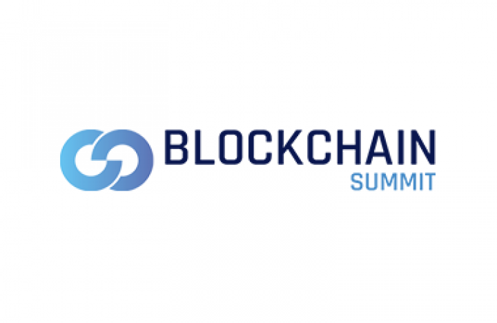 Logo for Blockchain Summit taking place at Olympia London