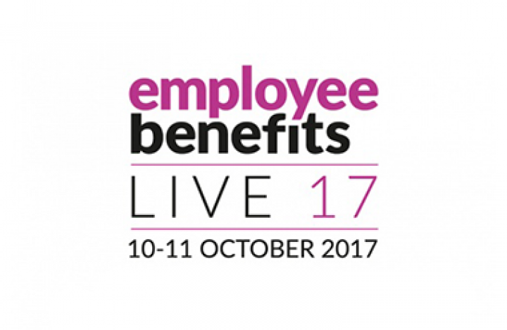 Logo for Employee Benefits Live taking place at Olympia London