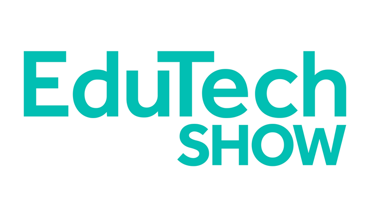 The logo for EduTech held at Olympia London