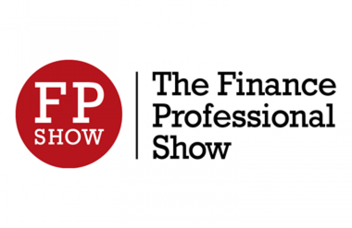 Logo for Finance Professional Show at Olympia London