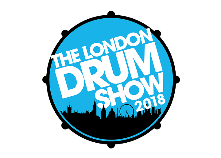The logo for the drum event held at Olympia London