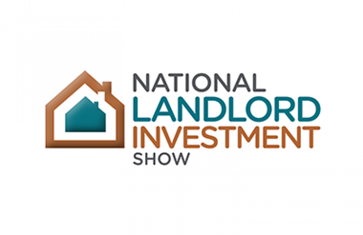 Logo for National Landlord Investment Show taking place at Olympia London