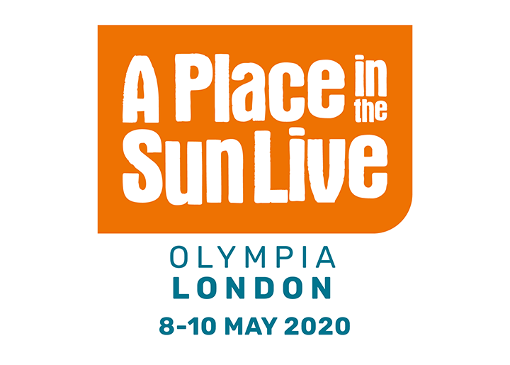 logo for a place in the sun