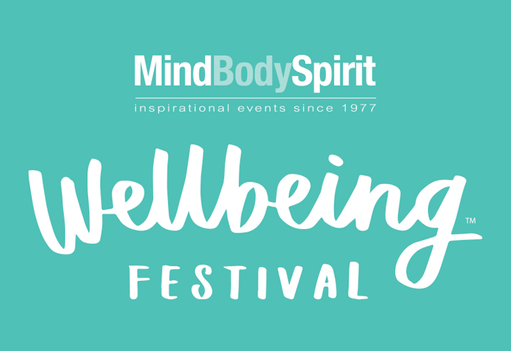 The logo for Mind Body Spirit, taking place at Olympia London