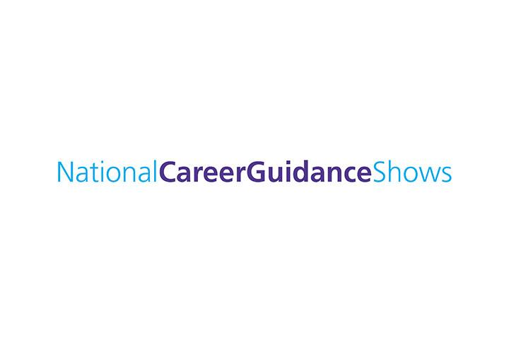 Logo for National Career Guidance Show taking place at Olympia London