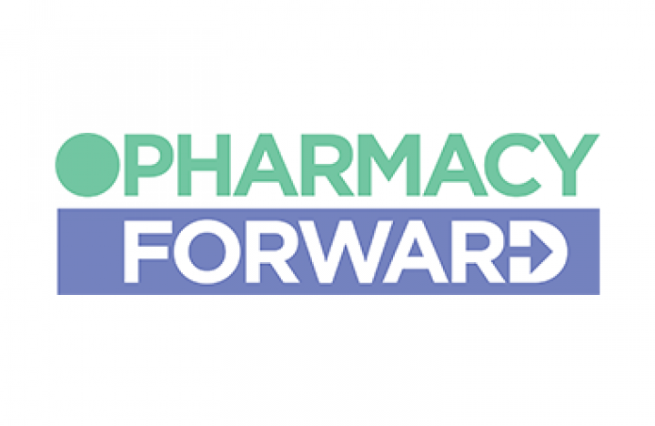 Logo for Pharmacy Forward taking place at Olympia London