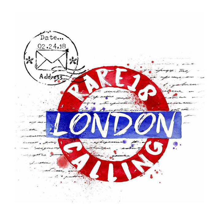 The logo for RARE18, taking place at Olympia London