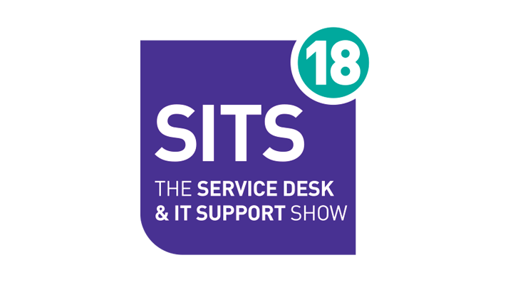 The logo for SITS – The Service Desk & IT Support Show, taking place at Olympia London