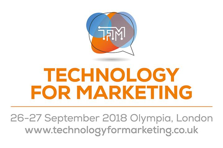 Technology for Marketing 2018 returns to Olympia London