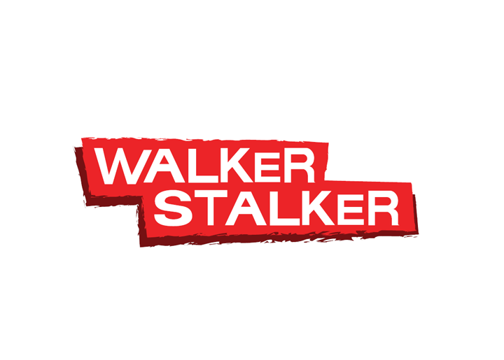 The logo for Walker Stalker Con, taking place at Olympia London